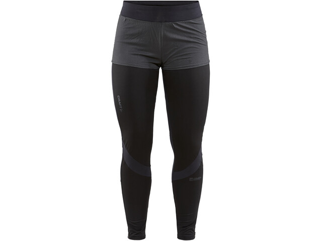 Craft Lumen Hydro Leggings Dames, black